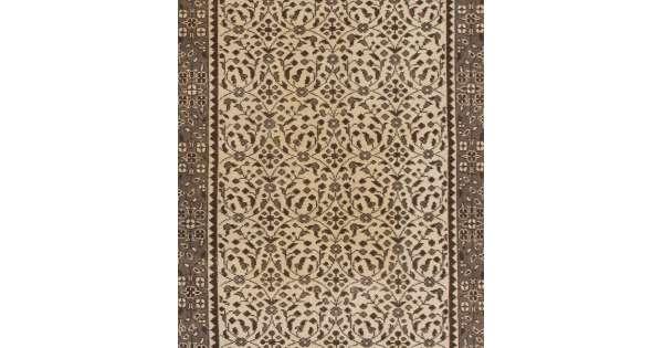 112 x 207 cm bej gri ve kahverengi el dokumas t rk hal s y kanm ve yumu at lm. Black Bedroom Furniture Sets. Home Design Ideas