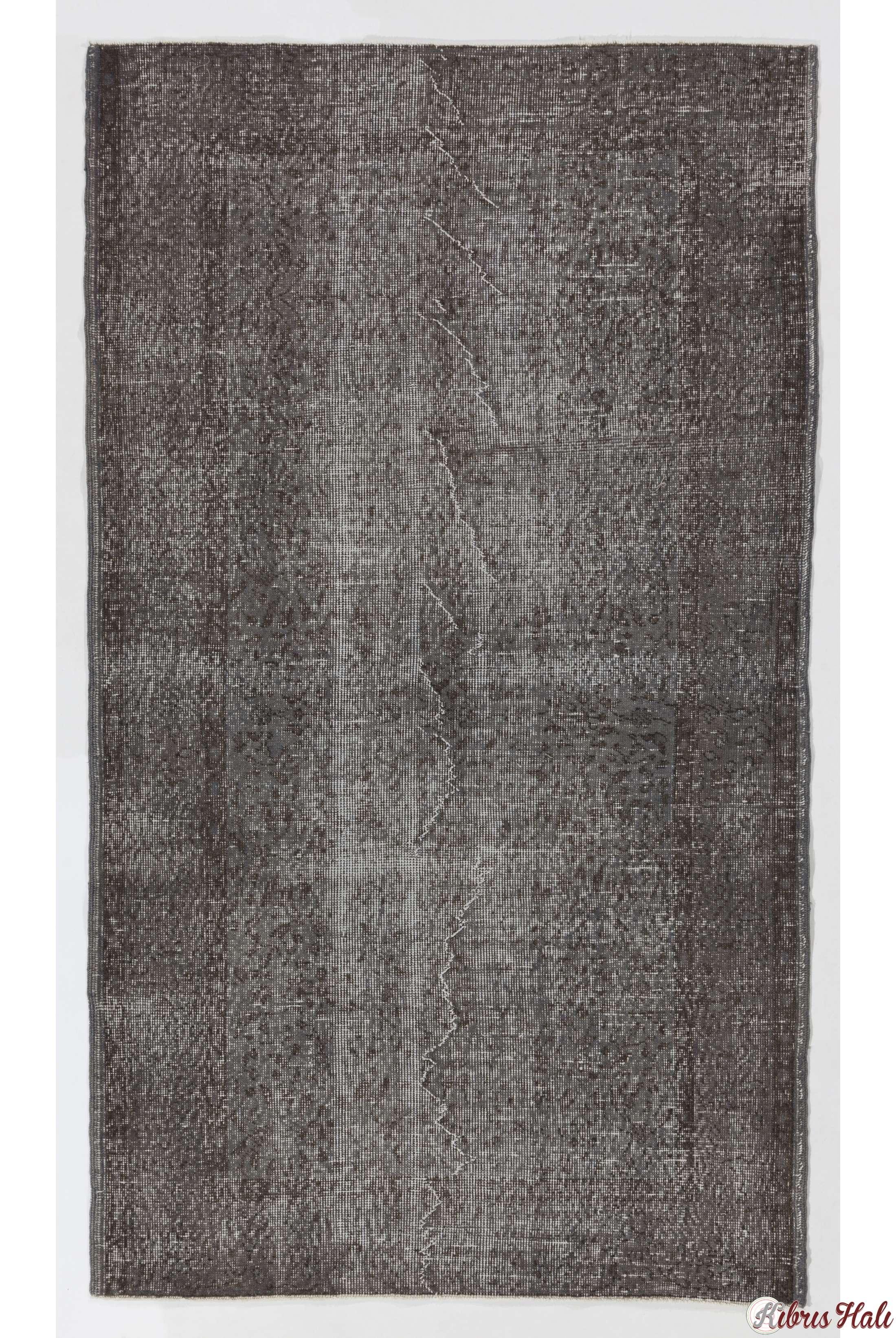 115 x 200 cm gri eskitilmi overdyed eldokumas t rk hal s. Black Bedroom Furniture Sets. Home Design Ideas