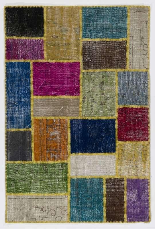 122x183 cm Multicolor PATCHWORK Rug