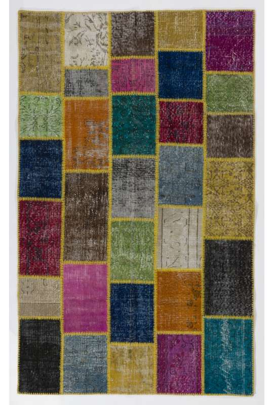 152x245 cm Multicolor PATCHWORK Rug